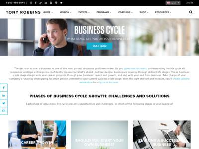 Anthony Robbins(アンソニー・ロビンス)(トニー・ロビンス(Tony Robbins))のWordPress(ワードプレス)活用事例