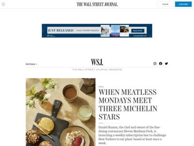 WSJ. MagazineのWordPress (ワードプレス)活用事例
