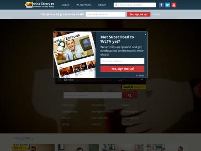 Wine Library TV (ワインライブラリーTV)のWordPress (ワードプレス)活用事例
