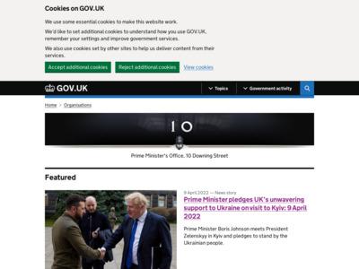 イギリス首相官邸のWordPress(ワードプレス)活用事例