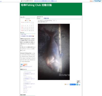 切串 Fishing Club 活動日誌